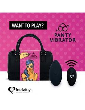 Feelztoys Panty vibrator a...